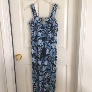 Flowered jumpsuit